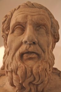 """Heraclitus of Ephesus (c. 535 - c. 475 BCE) famously compared life to a river, stating that """"everything flows and nothing abides"""""""
