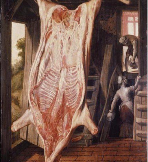 Slaughtered Pig by Joachim Beuckelaer