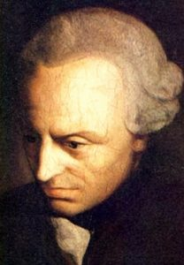 Immanuel Kant was an Enlightenment philosopher who believed it was the duty of citizens to support those in society who could not support themselves, and even believed the state should have the power to arrange for this help
