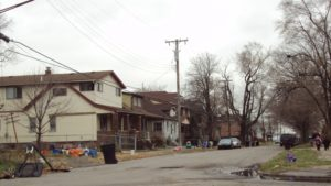 "Oakwood Heights in Detroit is a classic example of an American suburb with a very low ""standard of living"" and ""quality of life"""