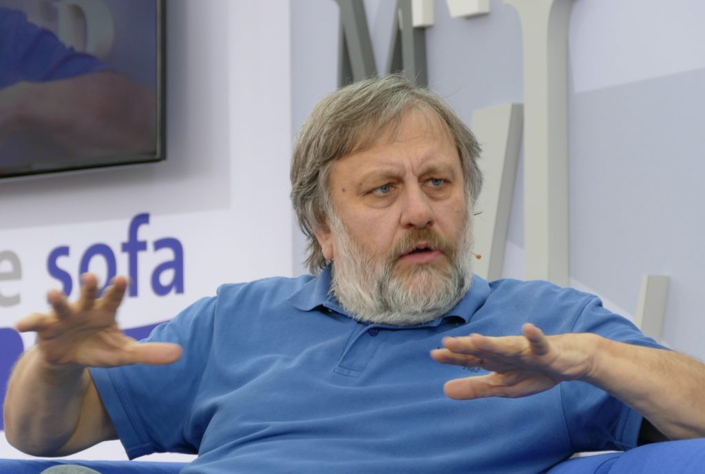 "Slavoj Zizek, Marxist philosopher, critic of the ""woke"" social justice left for its misunderstanding of Marxism, which explicitly rejects ""equality"" as a ""bourgeois category"""