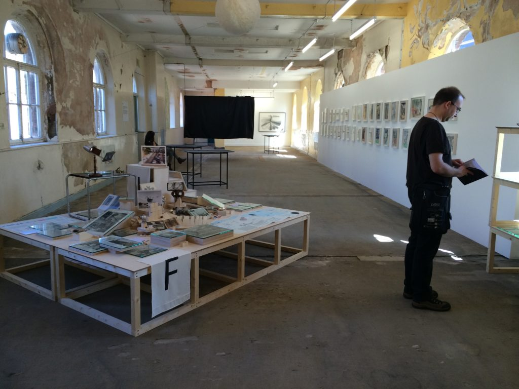 An image of the Old Blind School, a formerly derelict building occupied as the main space for exhibitions during the Liverpool Biennial, an international art festival established in 1999 in Liverpool, England
