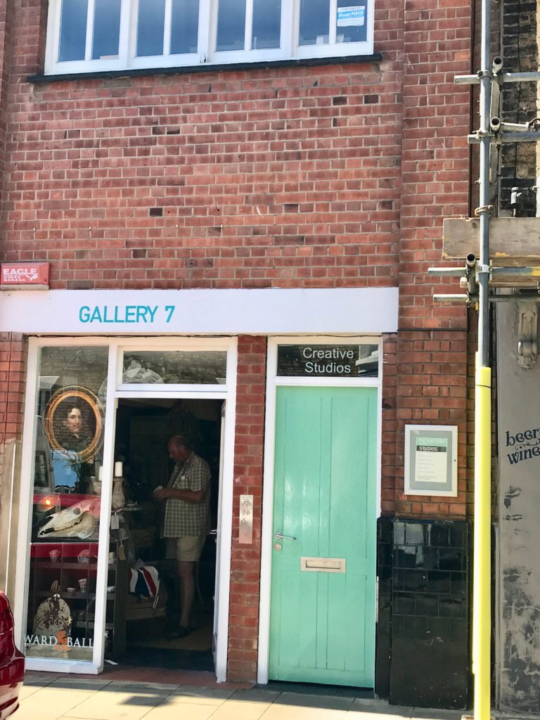 An image from the seaside town of Margate, England, which has been experiencing a culture-led renaissance since the opening of the Turner Contemporary art gallery in 2011
