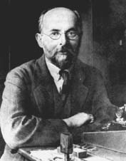 Alexander Gurwitsch (1874-1954) was a Russian biologist who first proposed the idea of morphogenetic fields in 1920