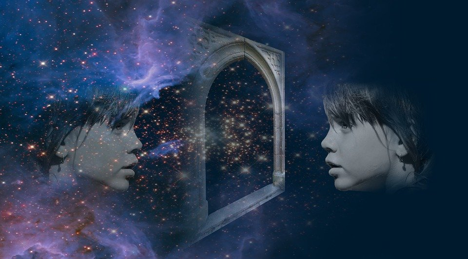Observer in cosmic mirror: objective observation