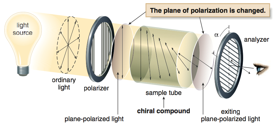 Louis Pasteur's theory of polarized light