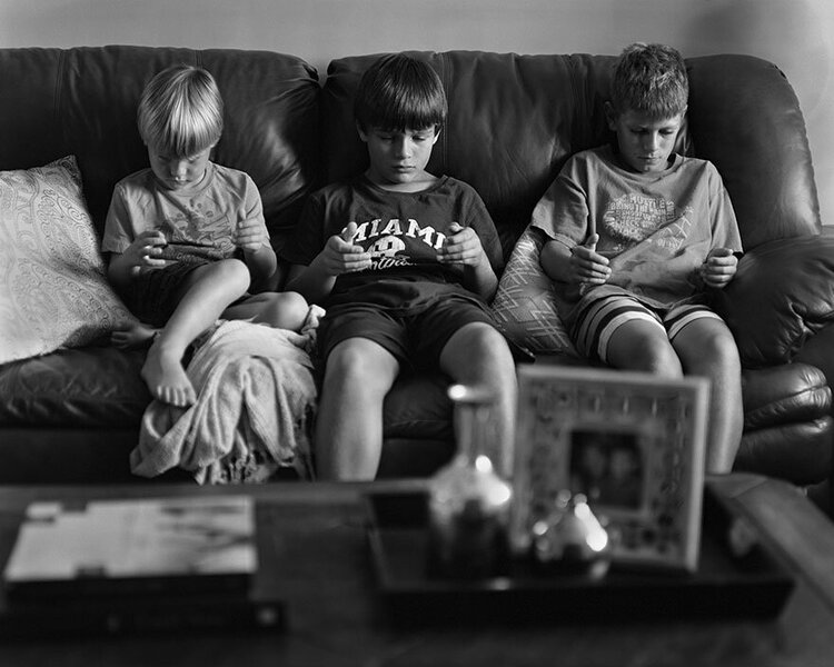 In this age of safetyism children play mostly at home on their devices