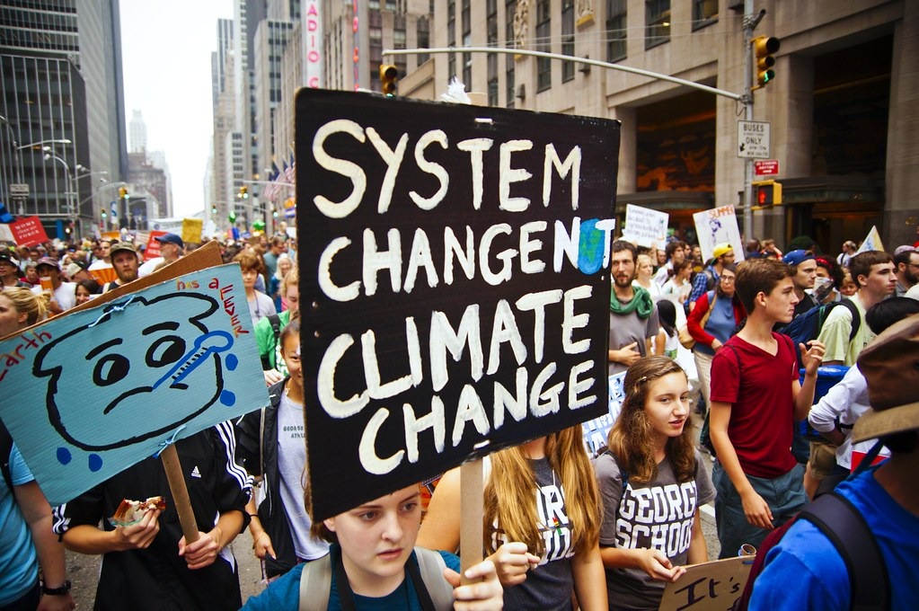 Climate Change protesters